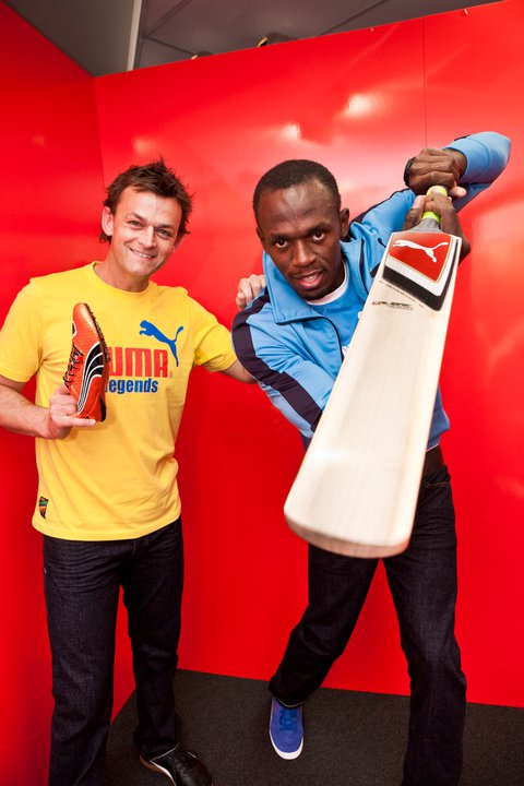Usain Bolt with Gilchrist