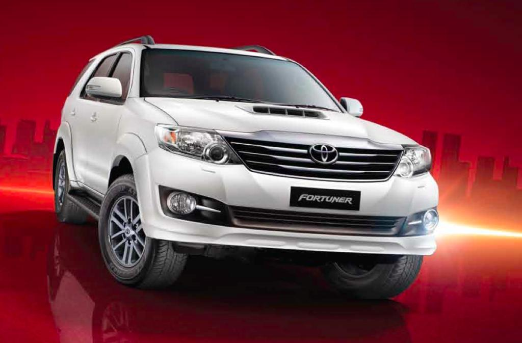 Toyota Cars Price List - South Africa 2015