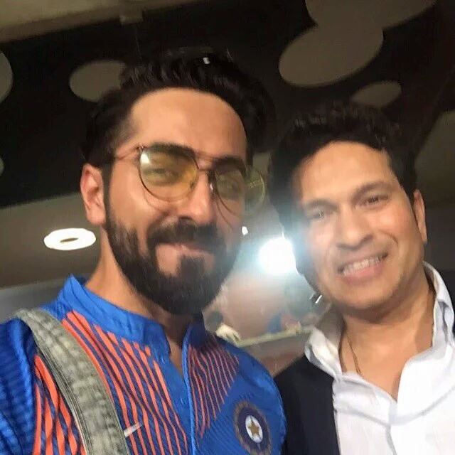Selfie with the Sachin - India vs Pakistan WC T-20