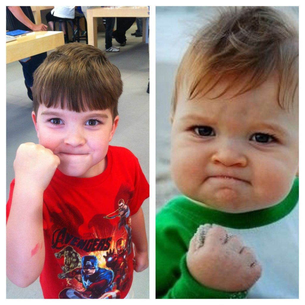 Incredible Facts The Success Kid who financed his Father's therapy ; Grown Up; Now and Then